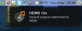 hdmi switcher for pulseaudio