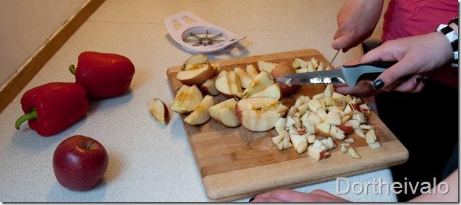 æblerogpeberfrugter
