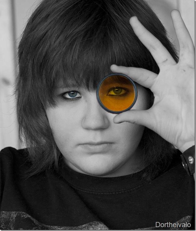 Laura med det gule filter