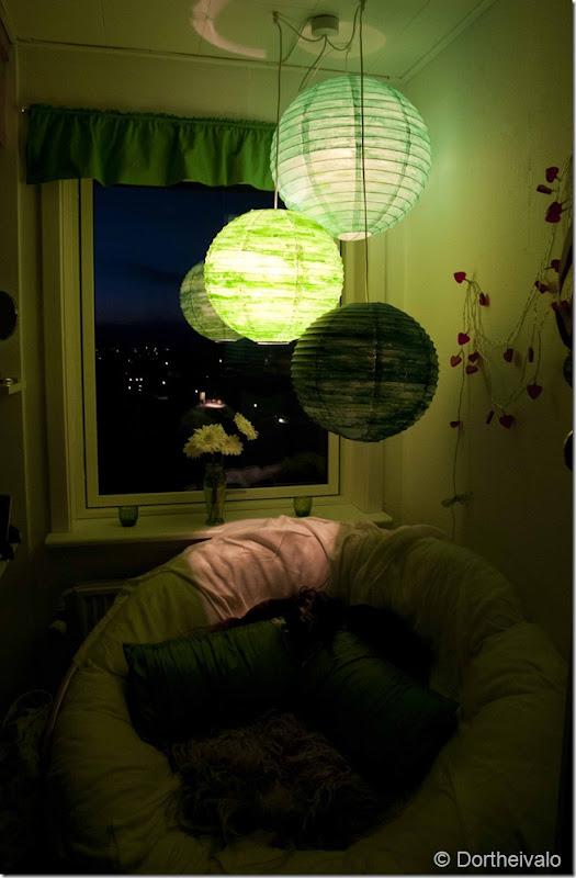 grønnelamper