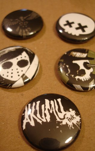 pinback, 1 inch pins, emo pins, emo buttons, hot topic accessories, punk accessories