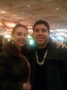 New Years eve at Bellagio casino
