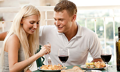 Women Eat Salad On Dates Cover