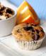 Muffins de Chocolate e Laranja