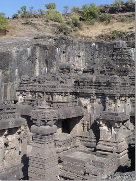 愛羅拉石窟第16窟凱拉什寺廟(Kailash Temple)
