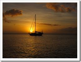 Sunset in N Vanuatu