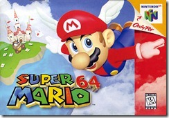 Capa de Super Mario 64 - A História dos Vídeo Games - Nintendo Blast