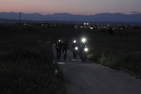 Nocturna hasta Brunete
