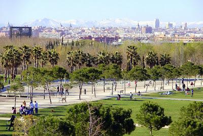 Parque del Manzanares desde Leganes