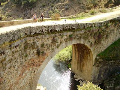 Puente de la Marmota en Colmenar