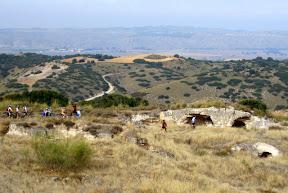 trincheras guerra civil en zona vallequillas