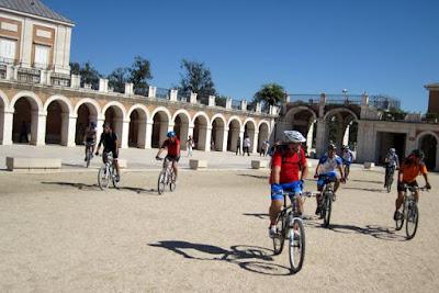 En el palacio real de aranjuez
