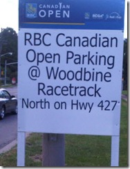 RBC Cdn Open - Woodbine parking 250x326