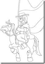 gaucho a caballo colorear.tk