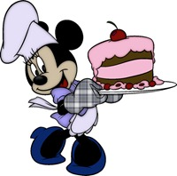 Minnie-Birthday-Cake
