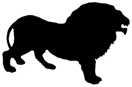 Siluetas de animales - Imagui