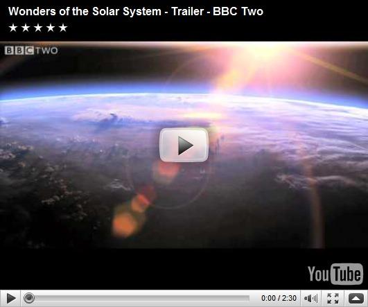 Maravilhas do sistema solar, da BBC