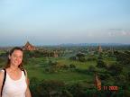 Bagan - View from Shwesandaw Paya