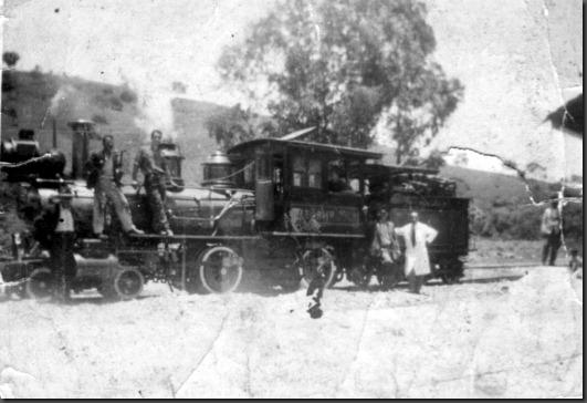 1 1958 Teste após reforma na estação de Santa Rita