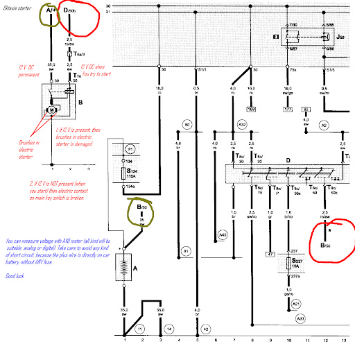 Skoda Start Wiring Diagram : Wiring diagram skoda fabia free engine image for