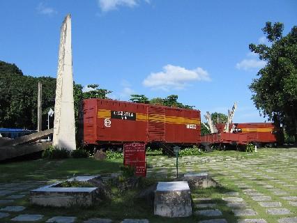 Monumento del Tren Blindado en Santa Clara