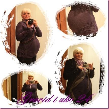 Gravid i uke 24 1