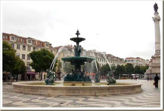 Chafariz no Rossio - Lisboa