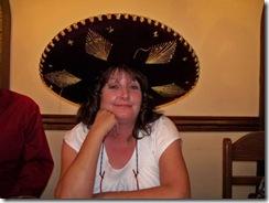 Gina in hat