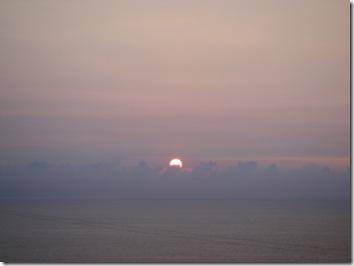 ハワイ島・夕日・サンセット