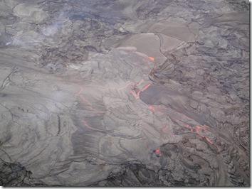 ハワイ島・溶岩・ヘリコプター