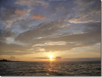 サンセット・夕日・ハワイ島コナ
