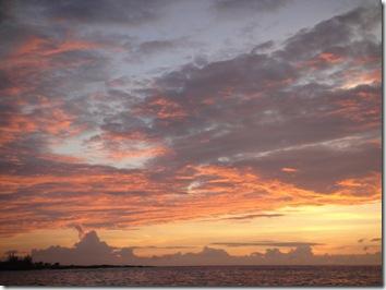 サンセット・ハワイ島コナ・ナイトマンタダイビング