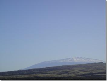 雪のマウナケア・ハワイ島