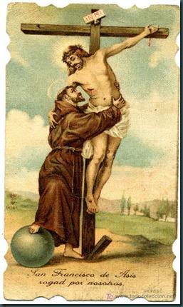 San francisco de asis rogad por nosotros