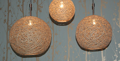 craftynest hemp pendant lamps