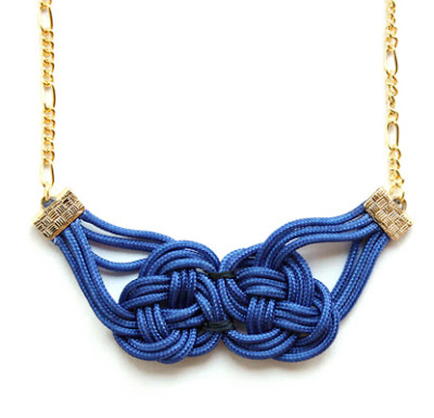 knotted jewelry on refinery 29