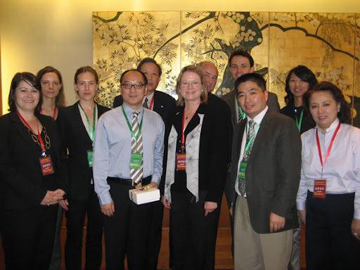Delegates to the April 25th launch of the Energy and Climate Registry in Beijing