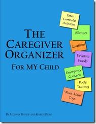 caregiver organizer cover child