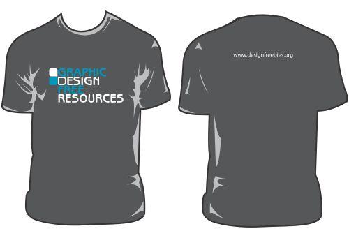 Templates de Camisas 18: Graphic Design Free Resources