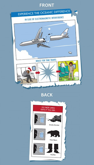 Camisa Lost - Oceanic Airlines