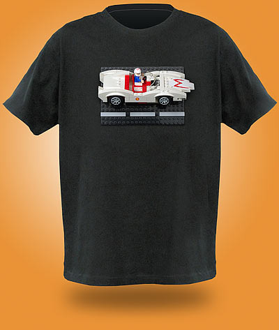Brick Construction Shirt - Camisa personalizada Lego - Speed Racer