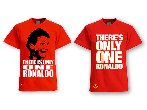 Camisa There's only one Ronaldo - Ronaldo Angelim - Flamengo