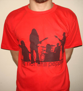 Red Hot Chili Peppers - RHCP - Modelo 3