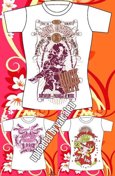 Estampa: T-Shirt collection Vaicaleu
