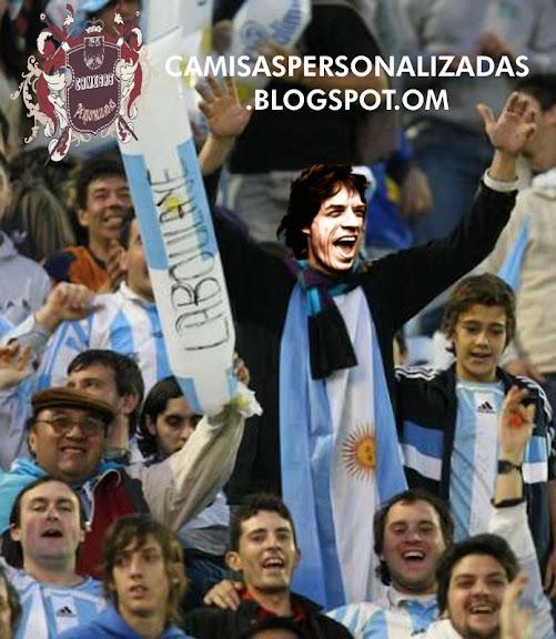 Agora sim!!! Mick Jagger torce pelo Brasil - Camisas Peersonalizadas