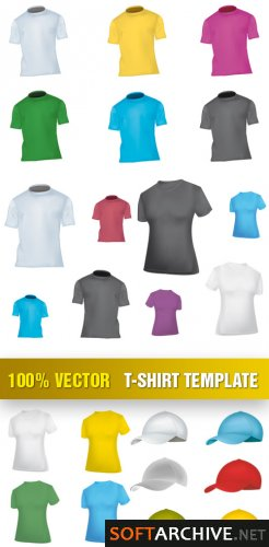 Template de Camisas 21 : Stock Vector - T-Shirt