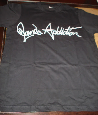 Camisa Jane's Addiction