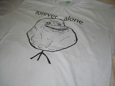 Camisa Forever Alone - Foto