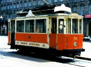 Tram d'epoca, Torino