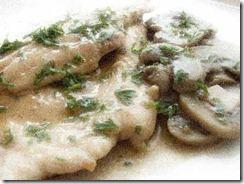Scaloppine, funghi, tartufo